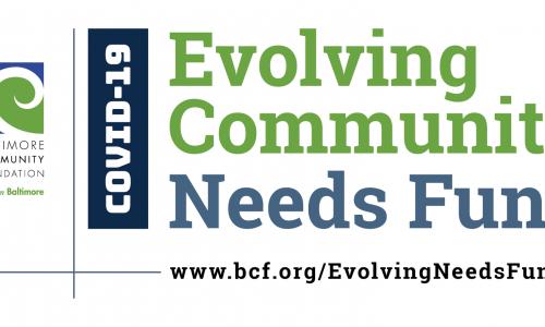 Evolving Community Needs Fund Banner